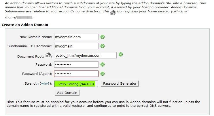 Host Domain