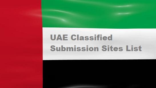 UAE Classified Sites List