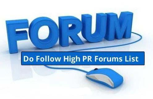 Forum Posting Sites List